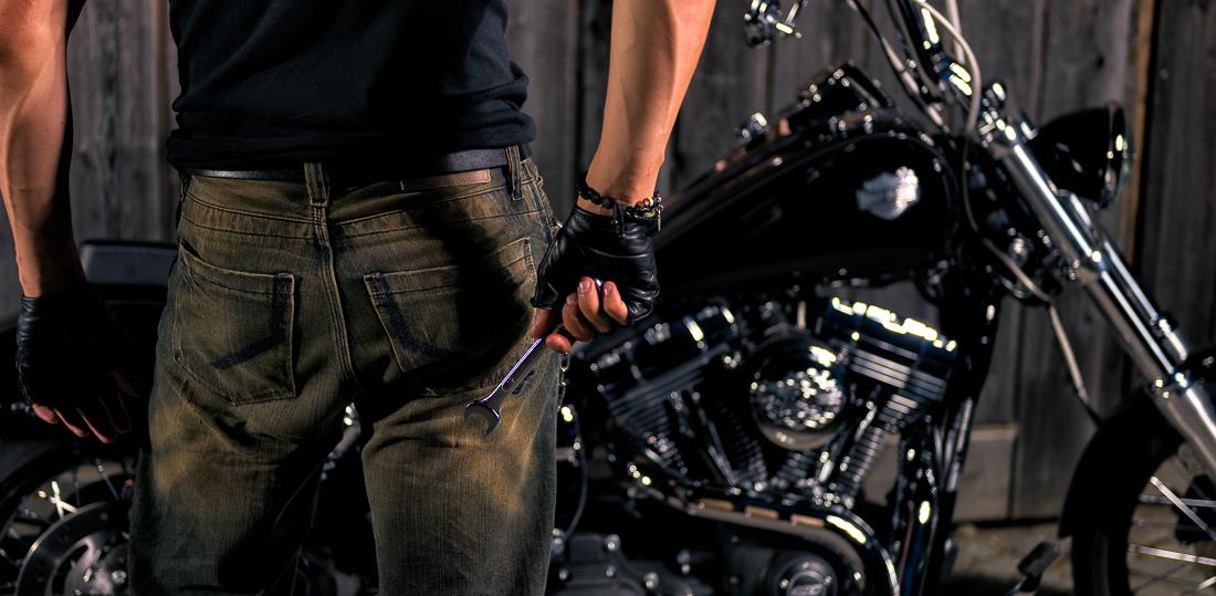 Coole Biker- und Motorradfotos