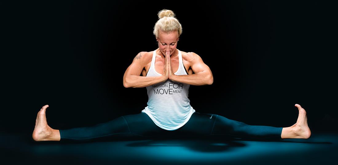 Sportler Portrait Fitnesstrainerin