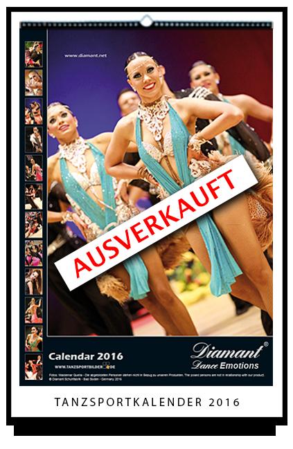 Tanzsportkalender 2016